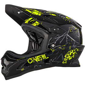ONeal Backflip Rl2 Helmet Zombie black/neon yellow